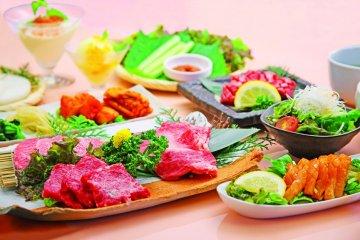 <p>Healthy and delicious food at Kudara Rikyu</p>