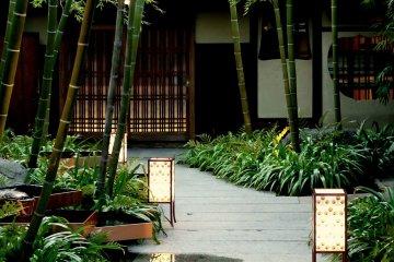 Радушный прием в стиле Киото