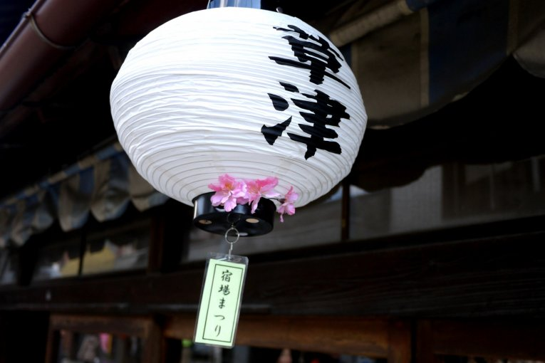 Цветение сакуры в Кусацу, Сига