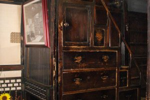 Climb back through time to Echigoya's 2nd floor room