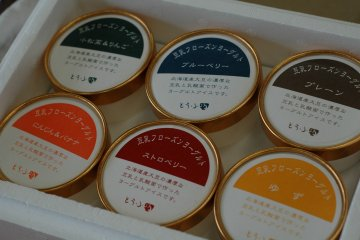 <p>Beginning April 2015, the shop will sell tofu frozen yogurt in six different flavors.</p>