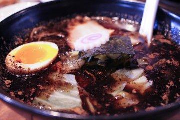 <p>Kogashi miso close-up</p>