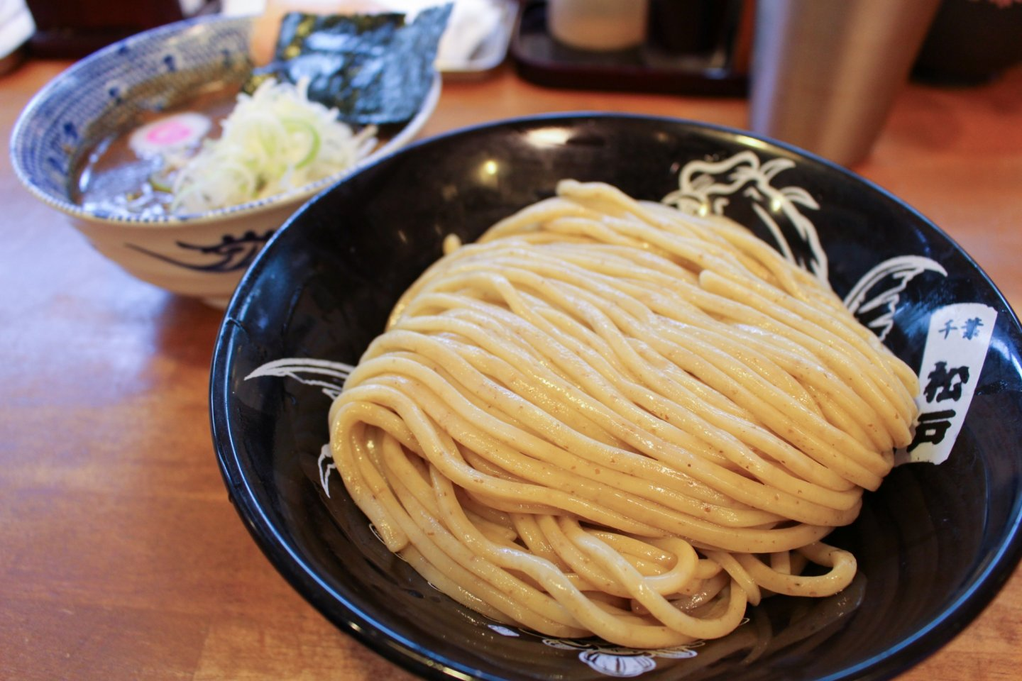 Another shot of the tsukesoba – tsukemen dipping noodles.