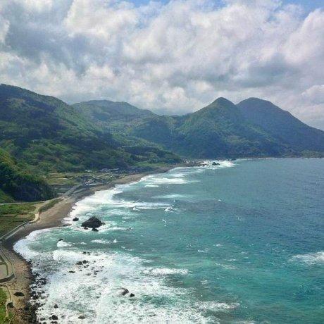 Sados beeindruckende Sotokaifu-Küste