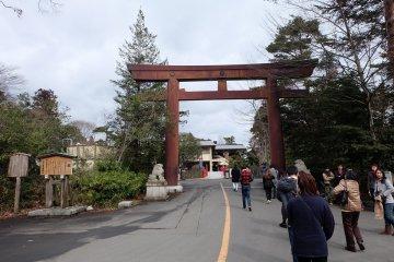 ปราสาท Sendai จุดชมวิวเมือง
