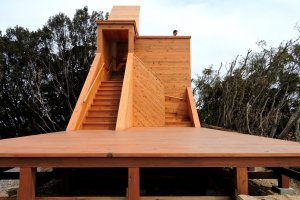 New observation deck built on a ley line between Ise Shrine and Mount Fuji