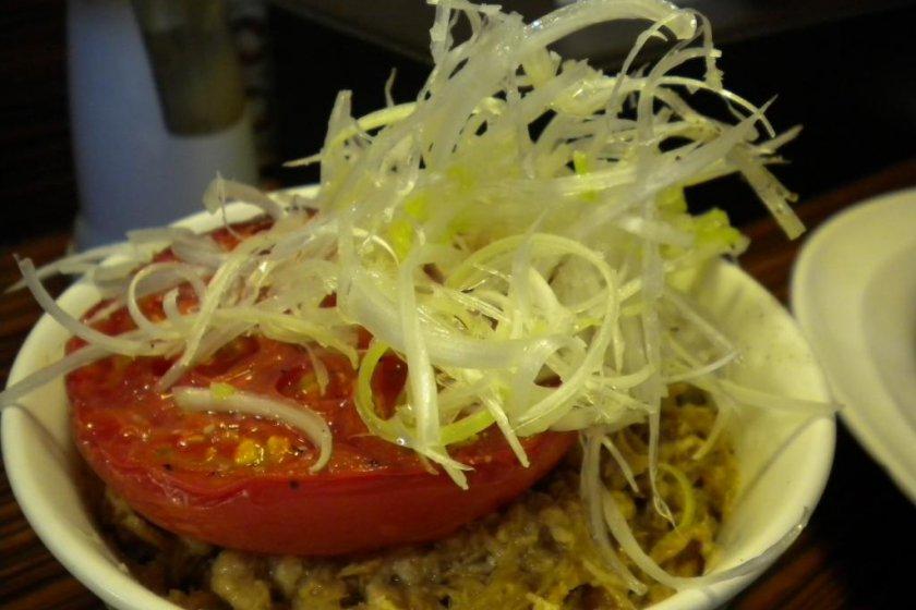 Ivan Ramen\'s Roasted Tomato Buta Chahan