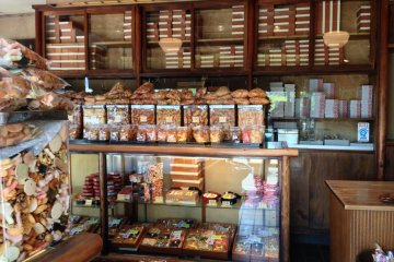 <p>Go back in time at Funahashiya&#39;s family store.</p>
