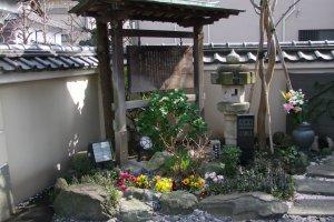 A quiet, peaceful temple