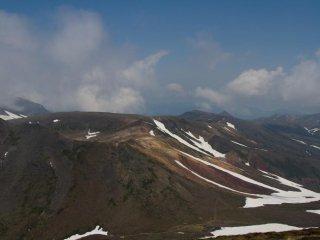 Cảnh quan từ đỉnh Asahidake