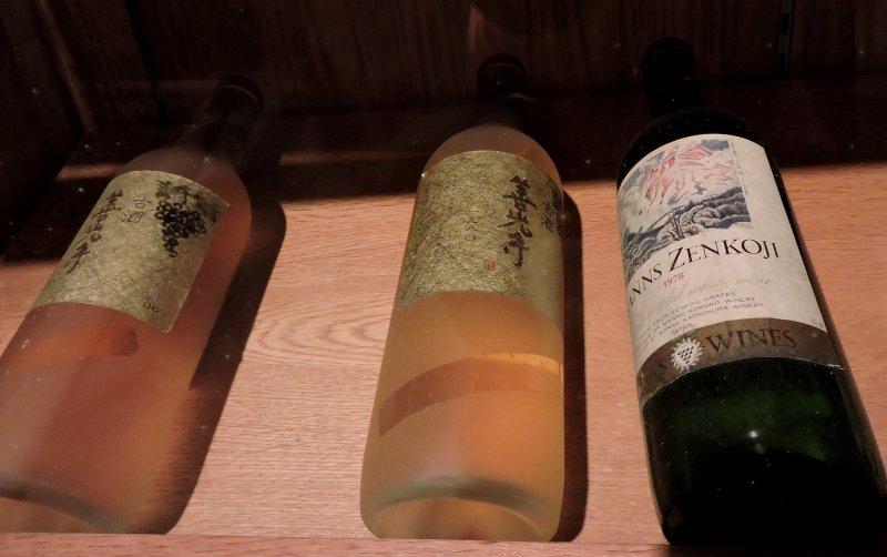 <p>Bottles of wine in storage</p>
