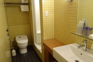 ห้องน้ำแบบทันสมัย ที่สำคัญคือ สะอาด