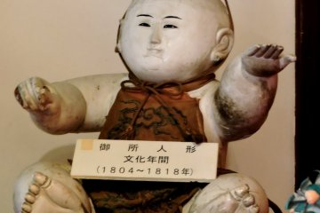 <p>Hina doll from the early 1800s</p>
