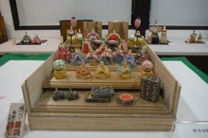 นิทรรศการตุ๊กตาฮินะ ที่บริเวณนิทรรศการเวียน ชั้นล่าง (2)