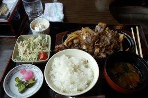 Pork Bowl Meal