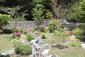 Главная часть сада