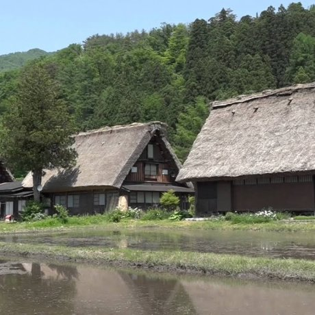 Walking around Shirakawa-go