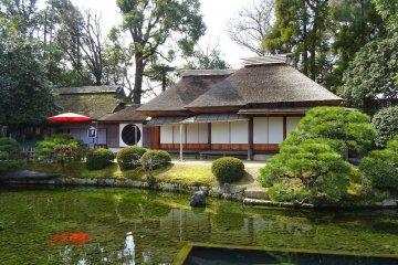 สวนโคะระกุเอ็น แห่งเมืองโอะกะยะมะ