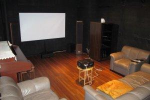 Phòng chiếu phim ở Comfort Tama Plaza