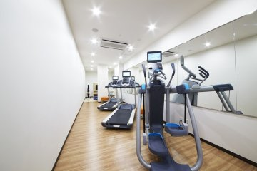 <p>A welcoming site to those with a thing for fitness</p>