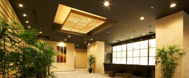 Front desk ofHOTEL MYSTAYS Premier Kanazawa