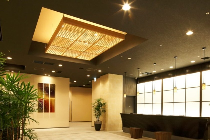La réception de l'Hotel MyStays Kanazawa