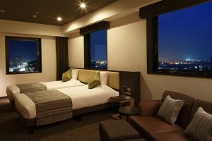 Rooms are comfortable and nice decorated