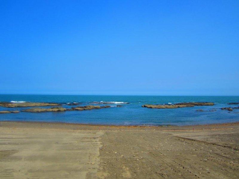 The Pacific Ocean rushes to meet you at Oarai Beach