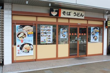 <p>A small and friendly restaurant, ideal for grabbing something before or after your train journey</p>