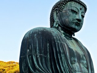 Daibutsu: Bold and strong against a blue December sky