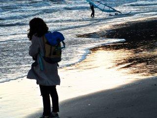 長谷寺と鎌倉大仏を観た後は、長谷海岸へ行こう