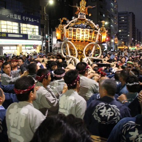 Le Torigoe Matsuri à Tokyo