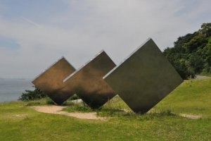 George Ricky's Three Vertical Squares