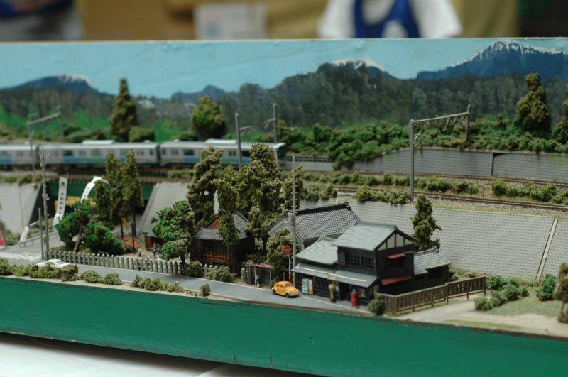 <p>Miniature trains weave through miniature towns.&nbsp;</p>