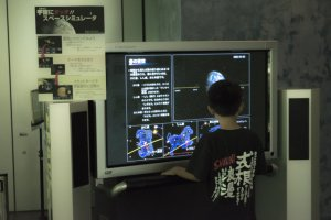 I hope this boy is having as much fun as I have learning about the Hayabusa space mission!