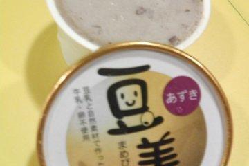 Red Bean Paste Ice Cream