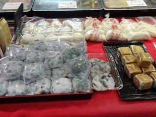 ขนมโมจิแบบต่างๆ