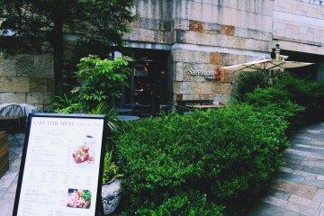 <p>The exterior of Salvatore Cuomo</p>