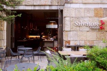 <p>A closer look at the exterior of Salvatore Cuomo&nbsp;</p>