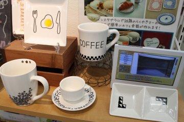 <p>設計自己的陶器</p>