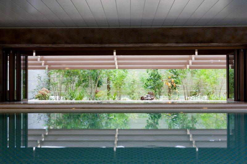 <p>Garden Spa&#39;s garden</p>