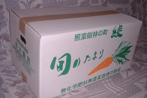 3,500 yen gets you a big box of stuff