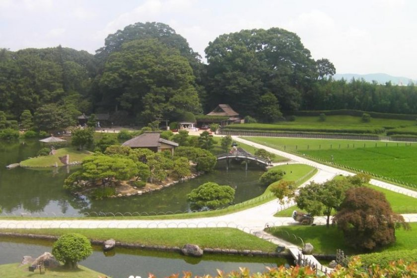 Okayama has plenty of destinations worth visiting (pictured: Korakuen)