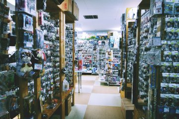 <p>Another look at the seemingly endless maze of little stores located inside Animate&nbsp;</p>