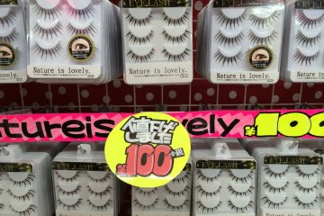 <p>Grab some new eyelashes for about a dollar</p>