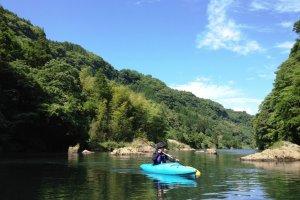 コースも桑野内ダム周辺で急な流れもないので初心者でも安心だ。