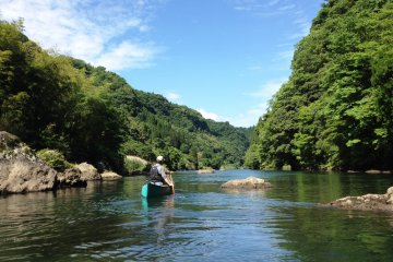 Kayaking in Soyo Gorge