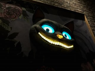 По пути на второй этаж вам повстречается Чеширский кот