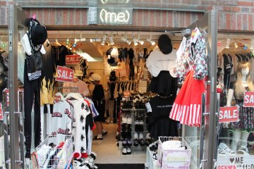 <p>A shop on Harajuku Street</p>