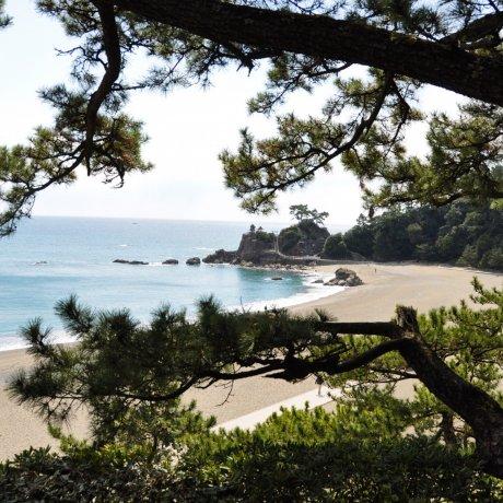 Pantai Katsurahama di Kochi